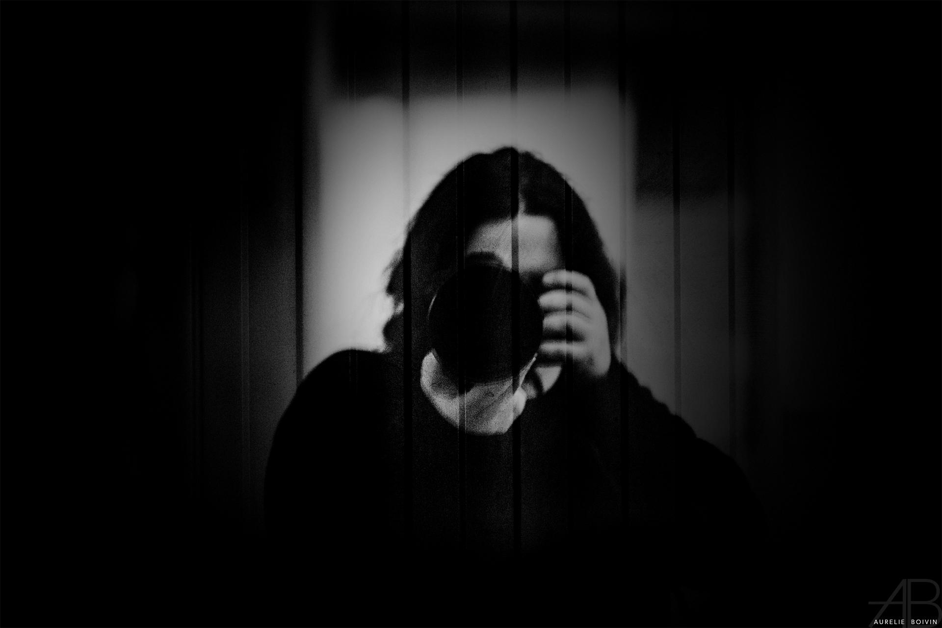autoportrait, photographe, vidéaste, Aurélie Boivin